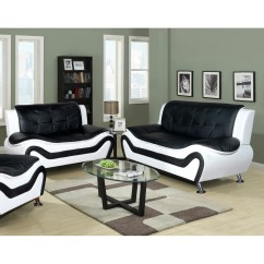 Algarve Leather Sofa And Loveseat Set Ashley Sale Latitude Run