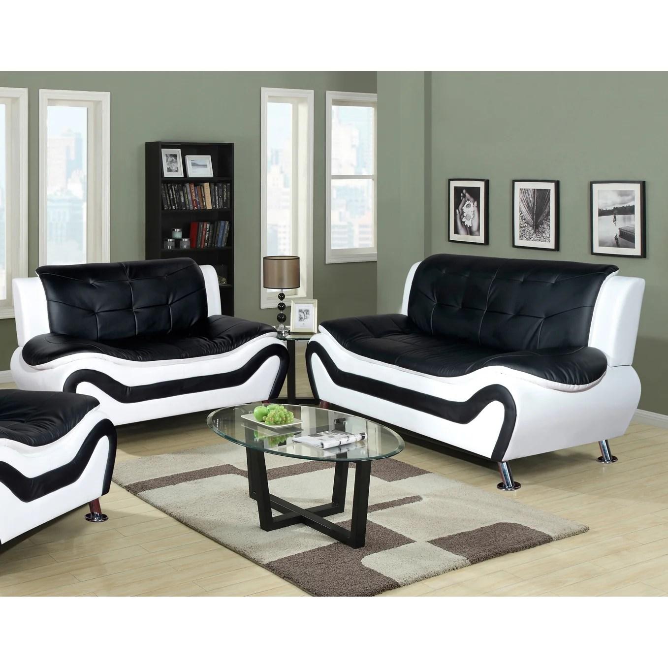 algarve leather sofa and loveseat set small comfy latitude run