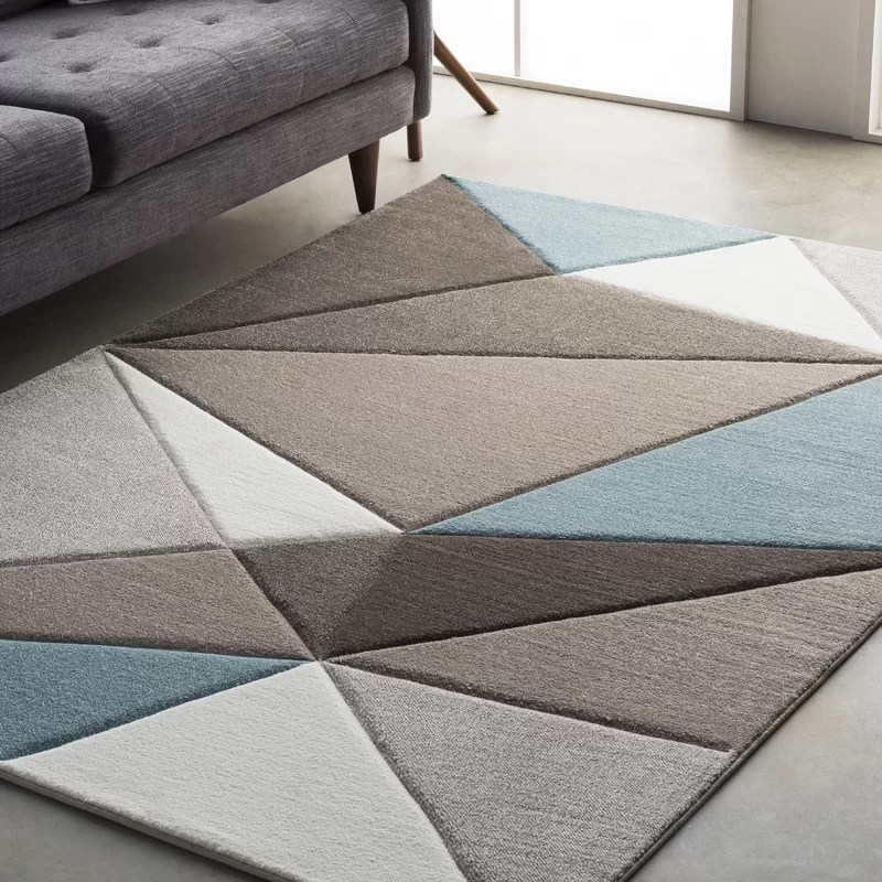 chicken kitchen rugs pantry storage ideas wrought studio mott street modern geometric carved teal ...