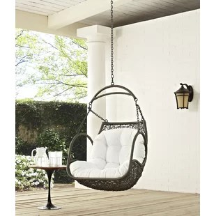 swing chair lagos camping with shade canopy indoor chairs hammock you ll love wayfair holladay