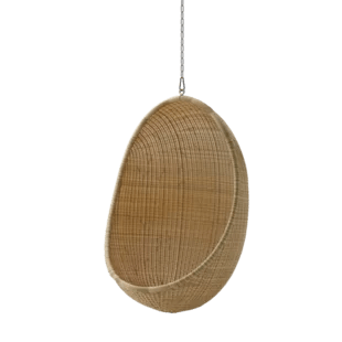 hanging chair with stand dubai retro cafe dining chairs rattan wicker pod swing wayfair quickview