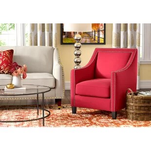 accent armchairs for living room feature wall color ideas arm chairs you ll love wayfair ca save