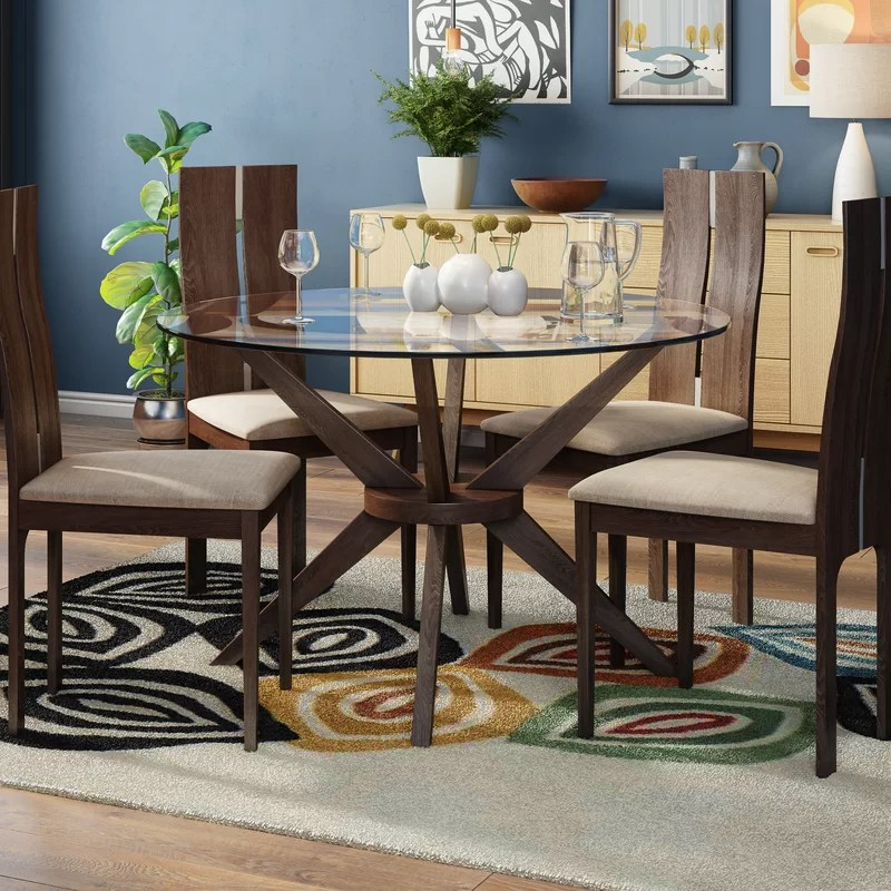 4 chairs in living room candice olson rooms before and after langley street tachevah dining set with reviews wayfair