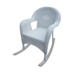 Rocking Chair White Outdoor Sofa Accessories Resin Wayfair Quickview