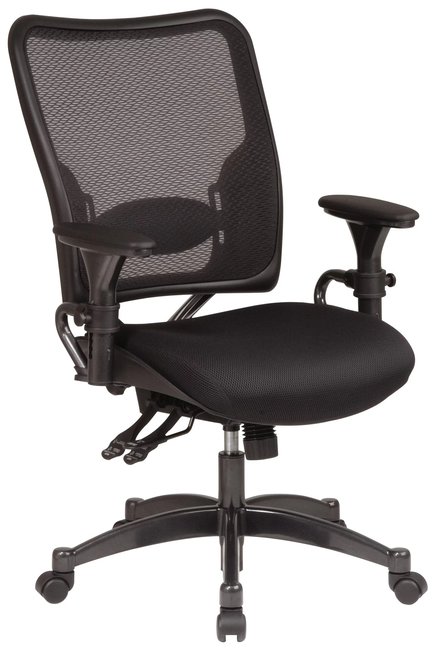 desk chair next white nursery office star space high back and reviews wayfair
