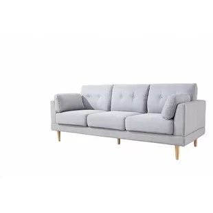 crypton fabric for sofas distressed white sofa table modern contemporary allmodern mid century ultra plush linen