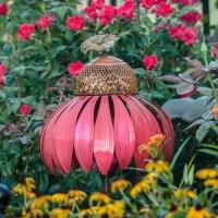 Desert Steel Coneflower Decorative Bird Feeder & Reviews ...