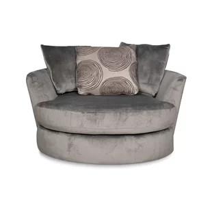 cheap swivel chairs dining room chair repair you ll love wayfair leesburg barrel
