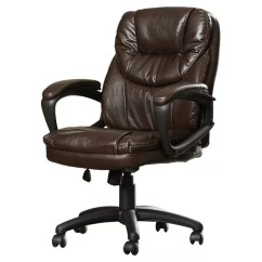 Unique Leather Office Chairs Lafuma Zero Gravity Chair Xl Executive You Ll Love Wayfair