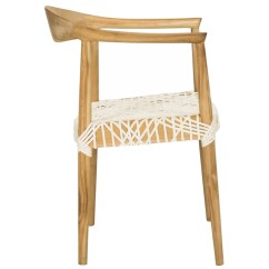 Leather Dining Chairs Ergo Chair Albertina Genuine Woven Reviews Joss Main