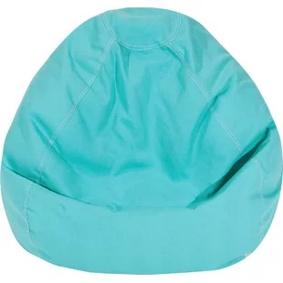 teal bean bag chair swing chairs for bedrooms you ll love wayfair quickview
