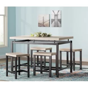 kitchen dining set makeovers room sets you ll love bryson 5 piece