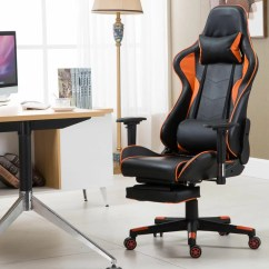 Recliner Gaming Chair Reading Beach Ebern Designs High Back Racing With Lumbar Support And Footrest