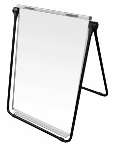 Thornton   office supplies double sided dry erase flip chart magnetic whiteboard  wayfair also rh