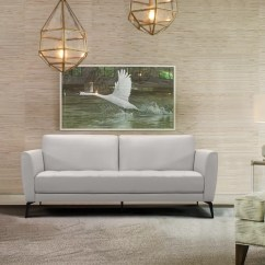 Contemporary Leather Sofa Bed Best Color To Paint A Living Room With Brown Orren Ellis Rankins Wayfair Ca