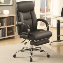 Desk Chair Footrest Rei Lawn Chairs Office With Wayfair Monimus High Back Executive