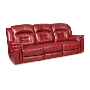 leather red sofa index set sofas you ll love wayfair quickview