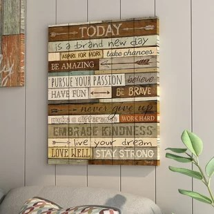 inspirational quotes sayings wall