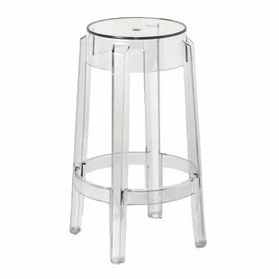 ghost bar chair how much does it cost to recover a modern contemporary clear acrylic stools allmodern quickview