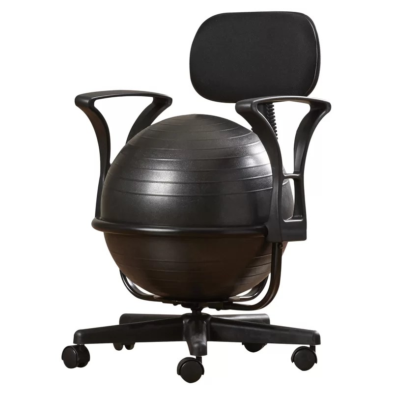 Symple Stuff Exercise Ball Chair  Reviews  Wayfair