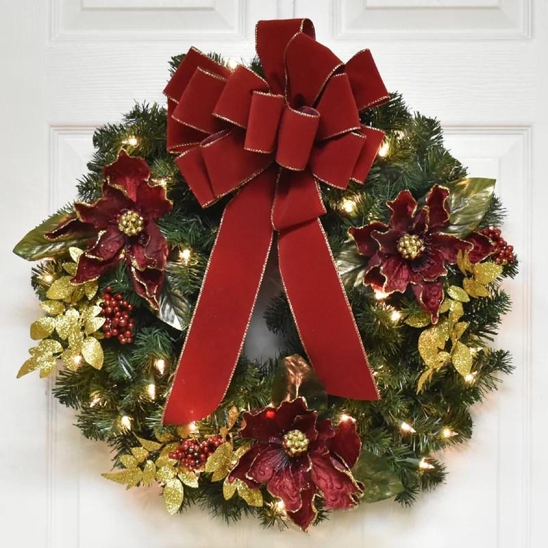 24 christmas wreath with