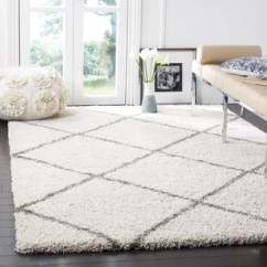 Grey Living Room Area Rugs Decorating Ideas You Ll Love Wayfair Ca Duhon Ivory Shag Rug