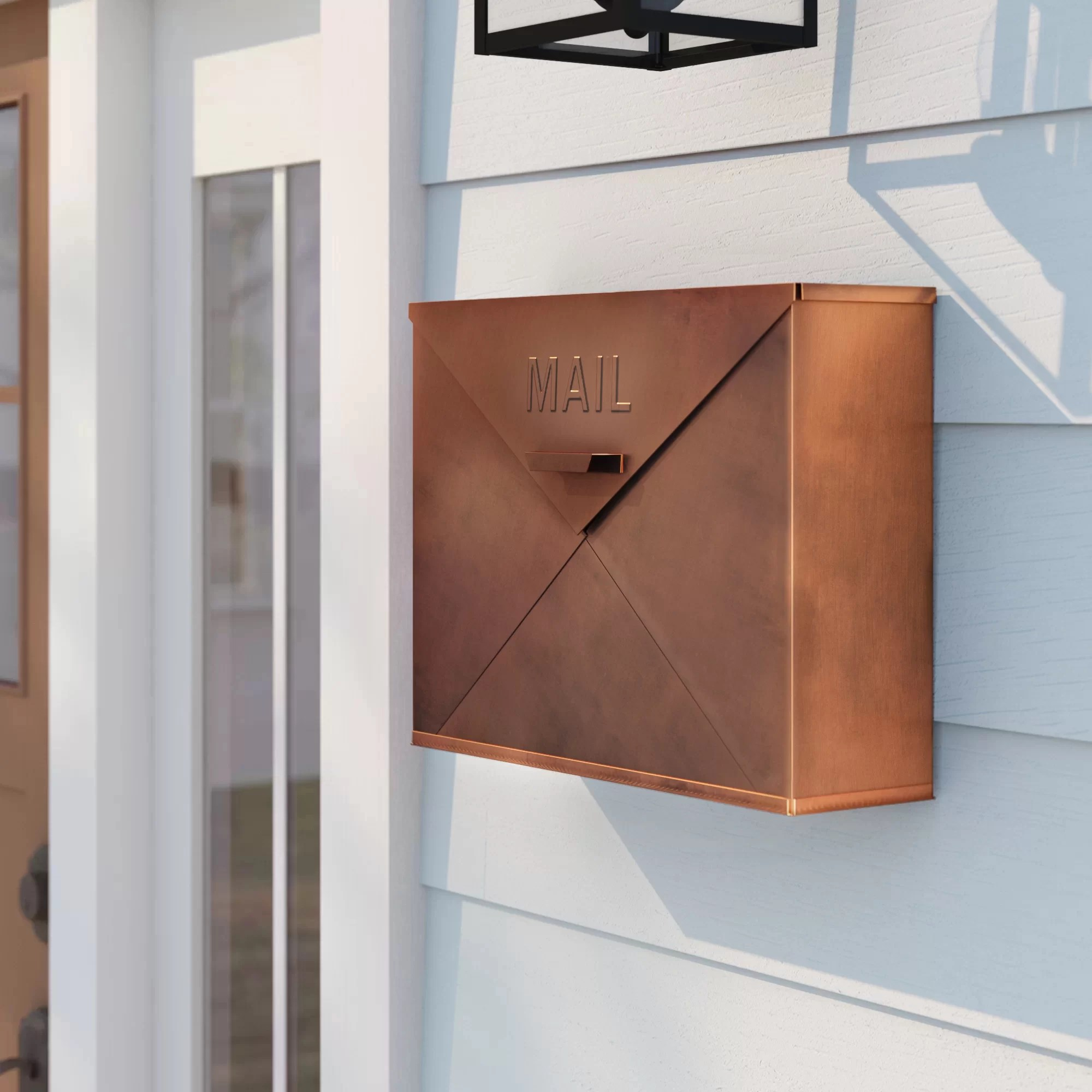 anderson wall mounted mailbox