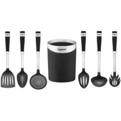 Kitchen Utensils Set Touch Faucet Reviews Non Stick Wayfair 7 Piece Utensil