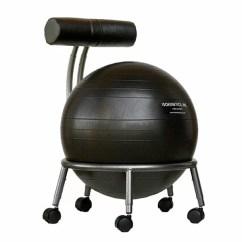 Ball Chairs Chair Booster Seat Asda Exercise You Ll Love Wayfair