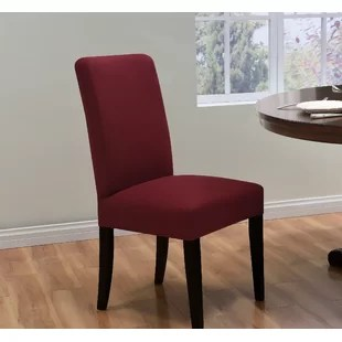 red kitchen chairs cushioned mat dining chair slipcovers you ll love wayfair quickview