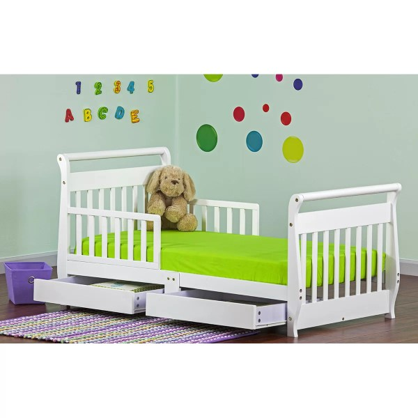 Dream Toddler Sleigh Bed With Storage &
