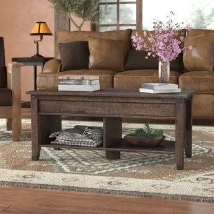 wood living room furniture chairs for big lots coffee tables you ll love wayfair ca