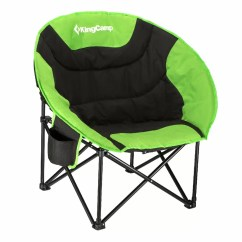 Baby Camping Chair Dining Room Chairs Set Of 6 Kingcamp Moon Saucer Folding With Carry Bag Wayfair
