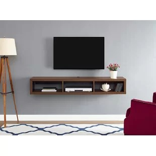 living room tv stand grey and yellow ideas floating stands entertainment centers you ll love wayfair quickview