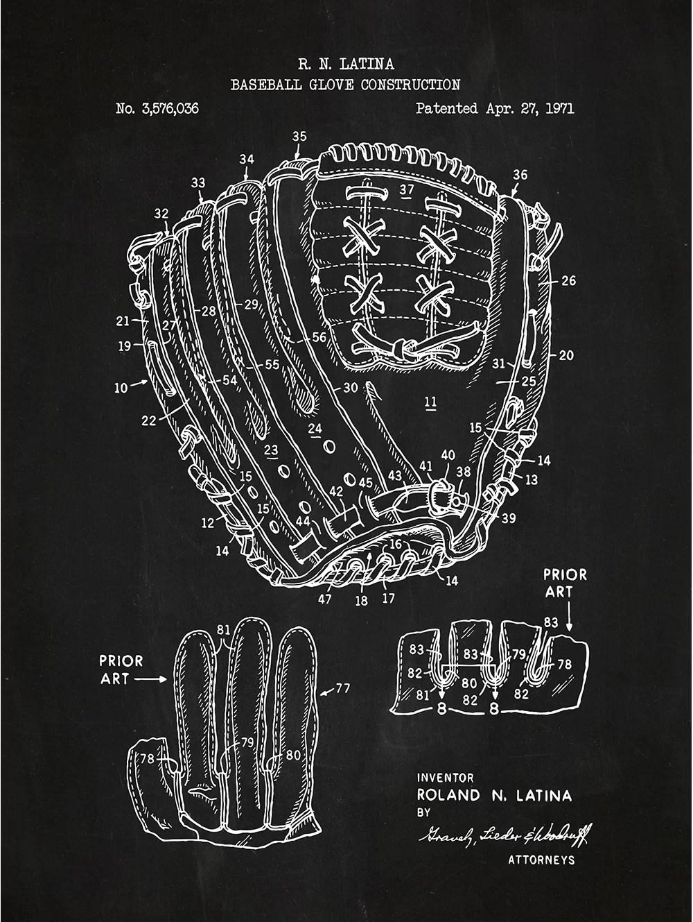 sporting goods baseball glove
