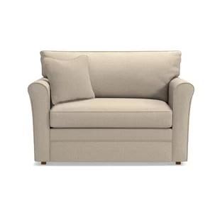 chair and a half sleeper cushioned office twin wayfair leah