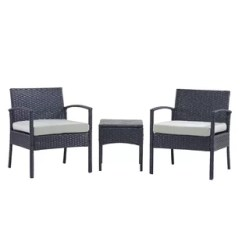 3 Piece Outdoor Table And Chairs Luxury Office Furniture Joss Main Quickview