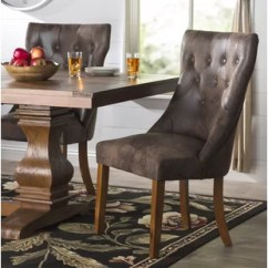 Farmhouse Dining Room Chairs Contemporary Recliner Benches Birch Lane Parfondeval Upholstered Chair Set Of 2