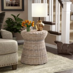 Rattan Side Tables Living Room Com Seagrass End Wayfair Ca