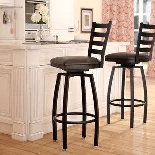 revolving chair for kitchen lightweight folding lawn chairs heavy duty bar stools wayfair quickview