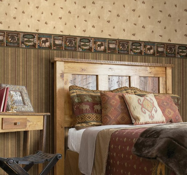 Brewster Home Fashions Echo Lake Lodge Tugalo Bear Paw 15