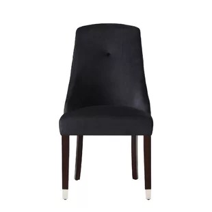 leather tufted dining chair bistro table and chairs indoor you ll love wayfair quickview