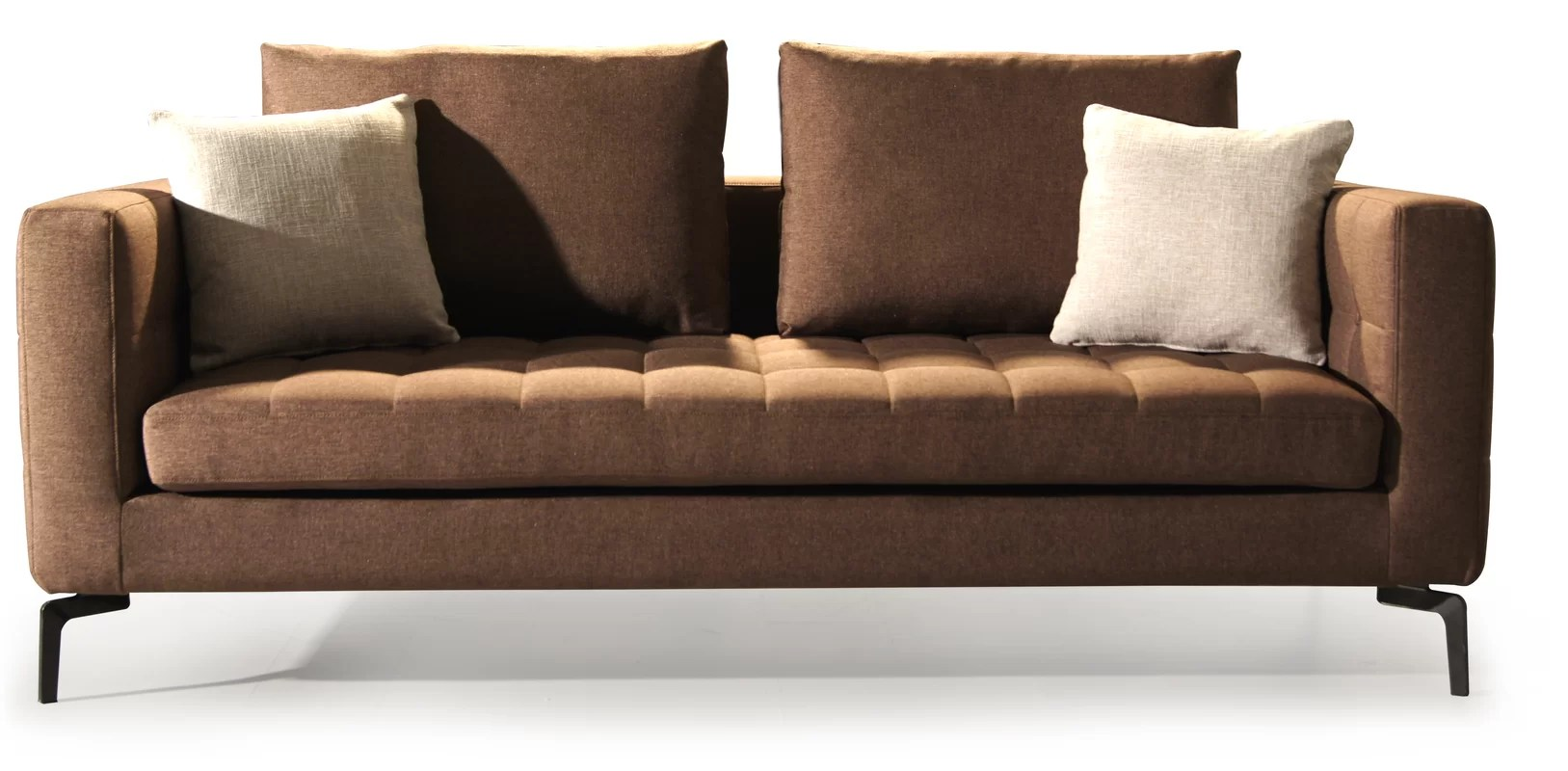 pb comfort sofa reviews leather sectional macys square modern arm sofas couches allmodern ...