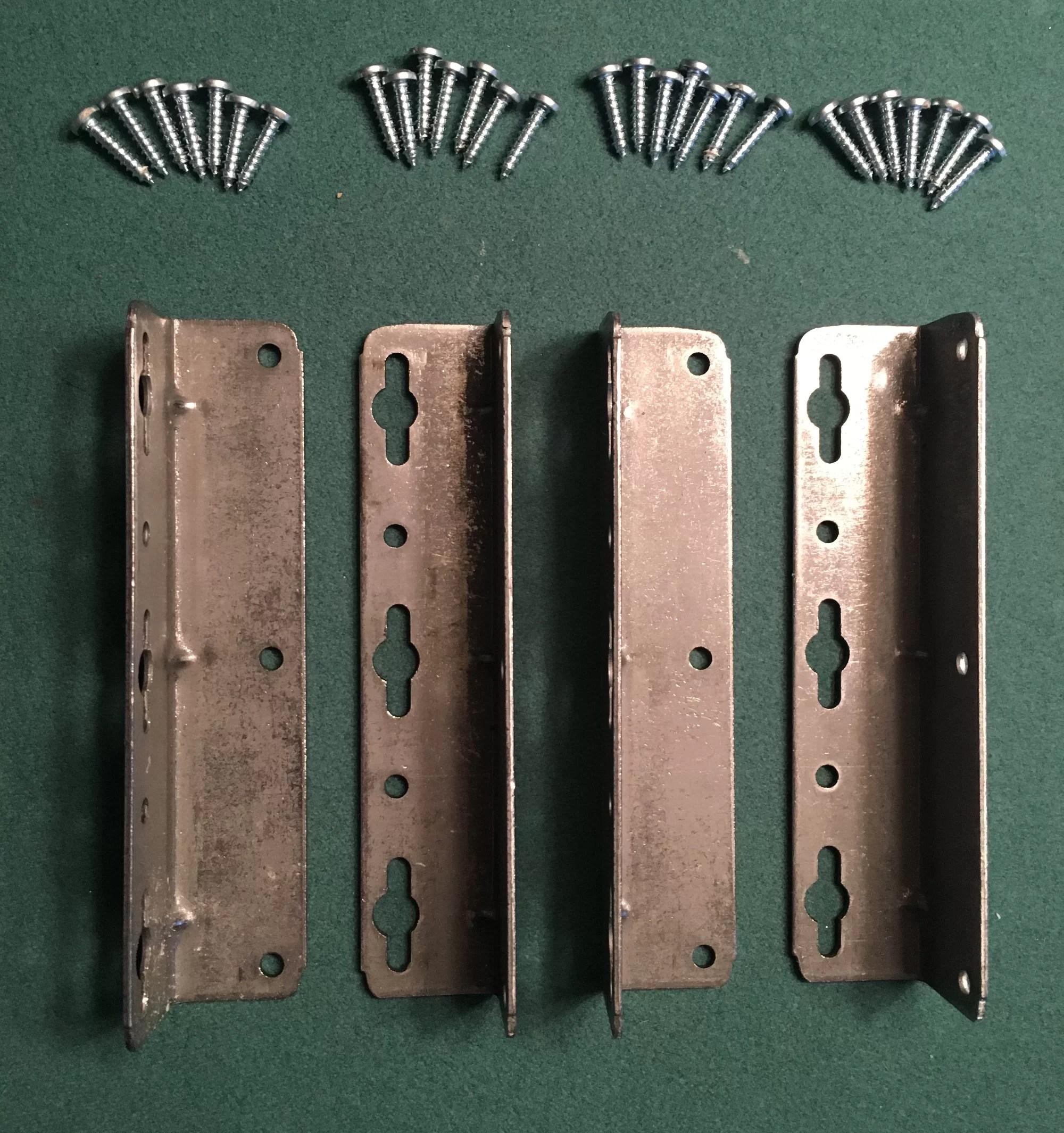 Strobel Technologies Woods Frame And Pedestal Hardware Kit Waterbed Bladder
