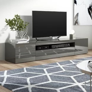 living room tv stand stands design for dark grey wayfair co uk quickview