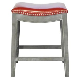 bar stool chair grey designer covers to go instagram stools you ll love wayfair quickview brown mystique gray