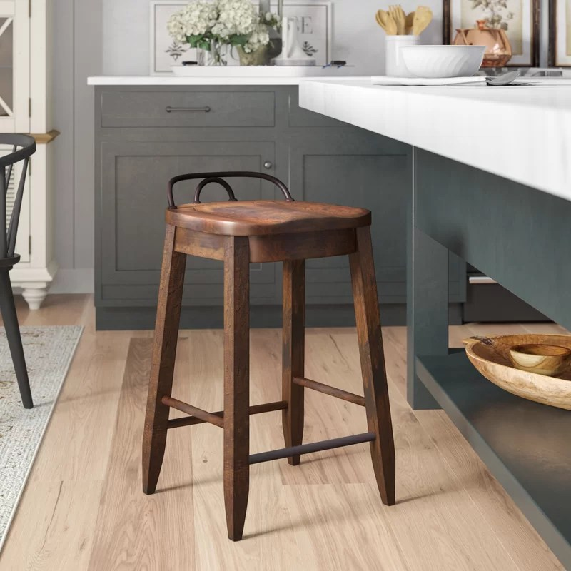 counter height bar chairs round wicker with cushion birch lane heritage piedmont 25 stool