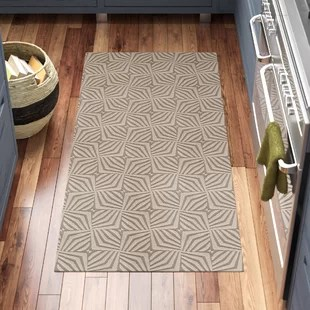 kitchen rug runners how much to replace cabinets washable floor wayfair quickview