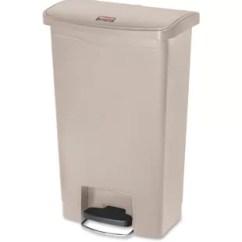 13 Gallon Kitchen Trash Can White Chairs Step On Wayfair Slim Jim
