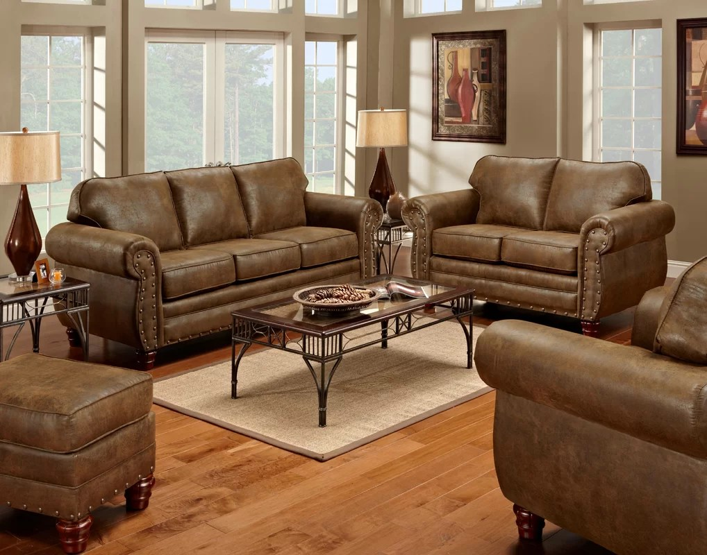 American Furniture Classics Sedona 4 Piece Living Room Set